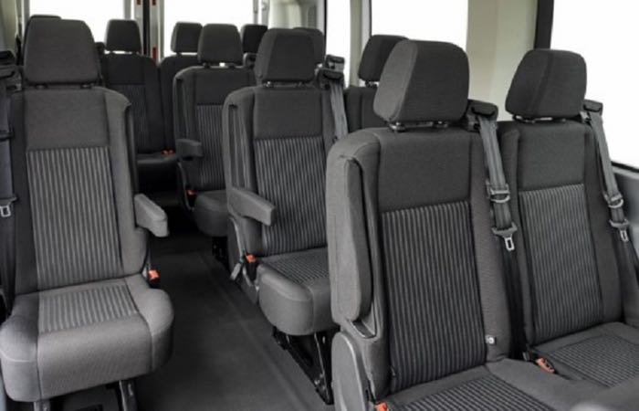 2015 Ford Transit Interior 2 Trophy Limo